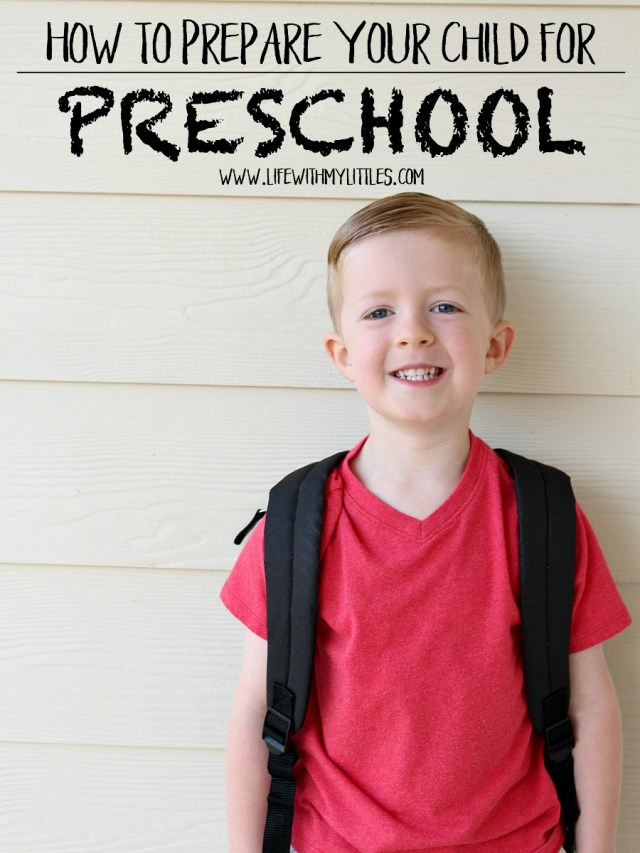 Not sure how to prepare your child for preschool? Here are seven easy things to do to make sure they'll get started on the right foot!