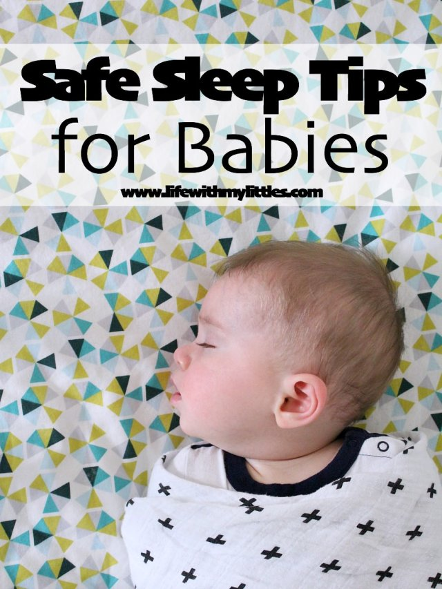 These safe sleep practices are so important! If you want to know tips for safe sleep for babies, check out this post! So helpful for moms with newborns!
