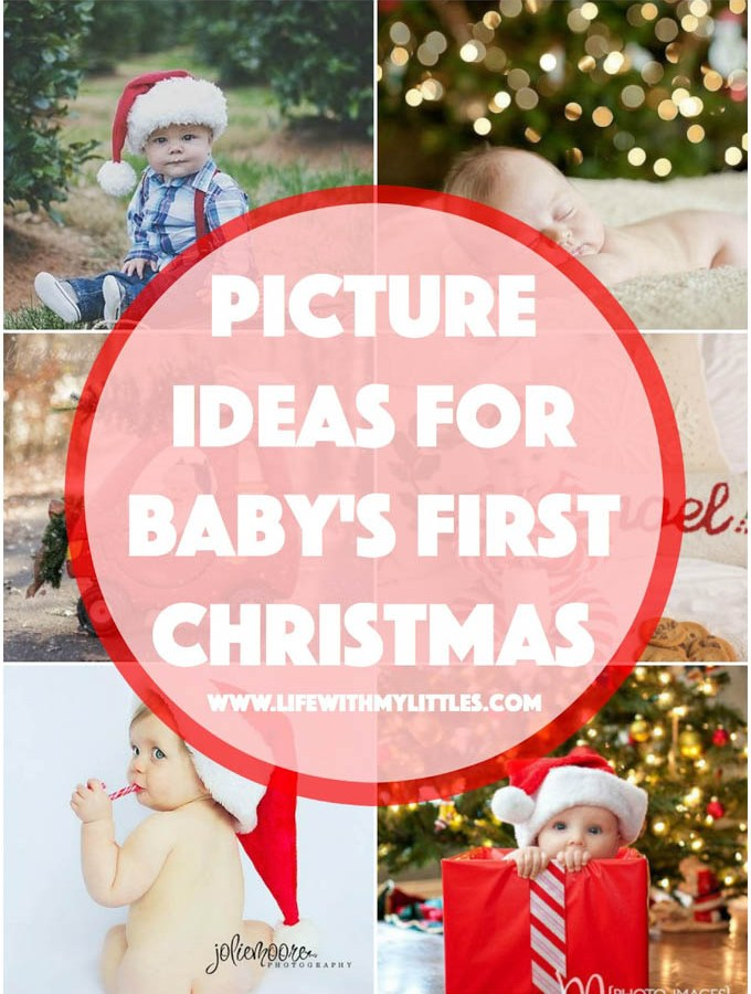Picture Ideas for Baby's First Christmas