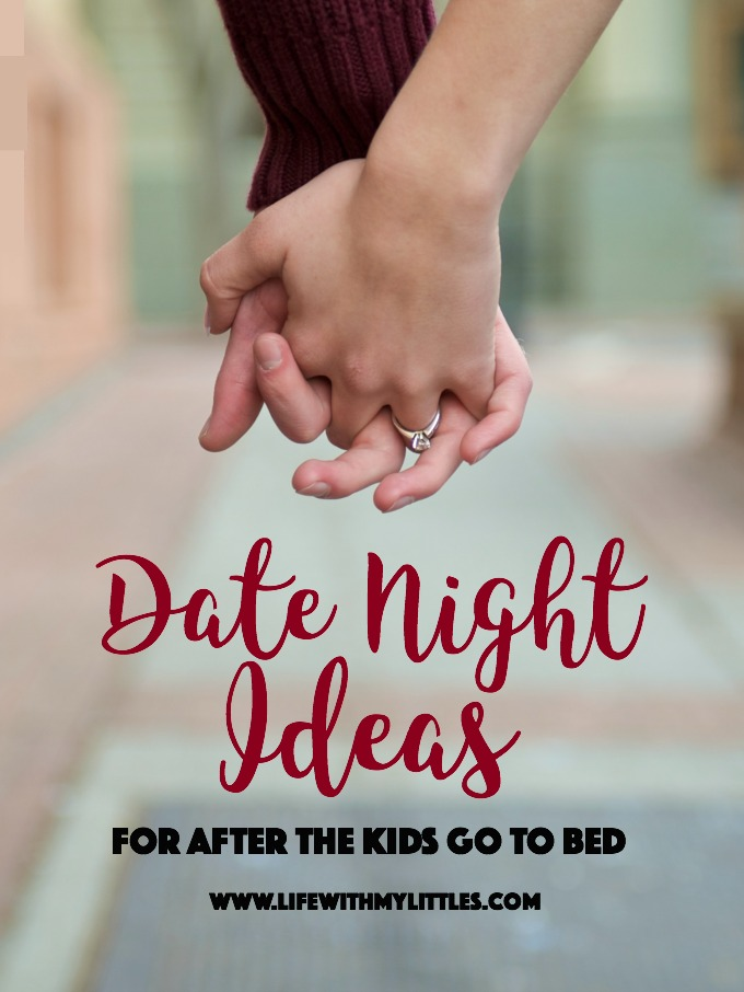 Just because you have kids doesn't mean you can't date your husband at home! Here are ten easy and fun at home date night ideas for after the kids go to bed!
