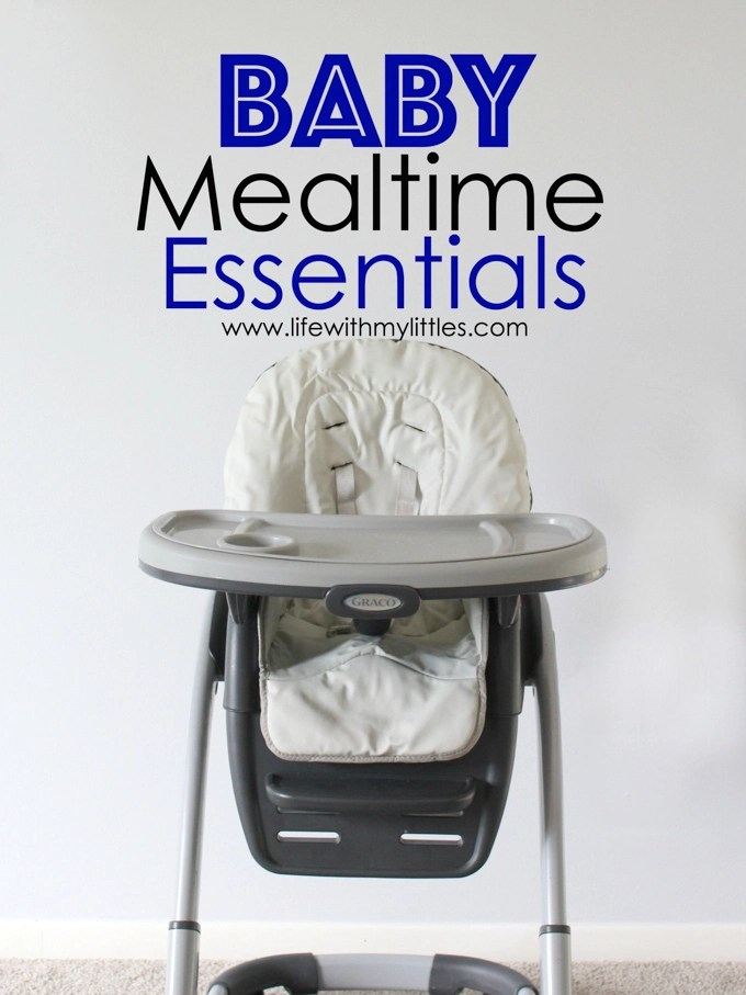 You can't feed your baby without these six baby mealtime essentials! Great for parents with babies starting solids!