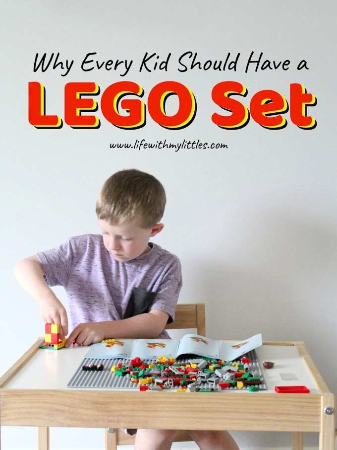 Why Every Kid Should Have a LEGO Set