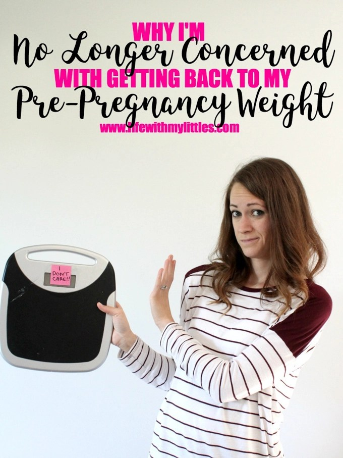 This is such a great article about self-love postpartum! It can be hard not to compare your pre-pregnancy weight with your postpartum weight, but it doesn't have to be! A must-read for new moms, postpartum moms, pregnant moms, or moms with older kids!