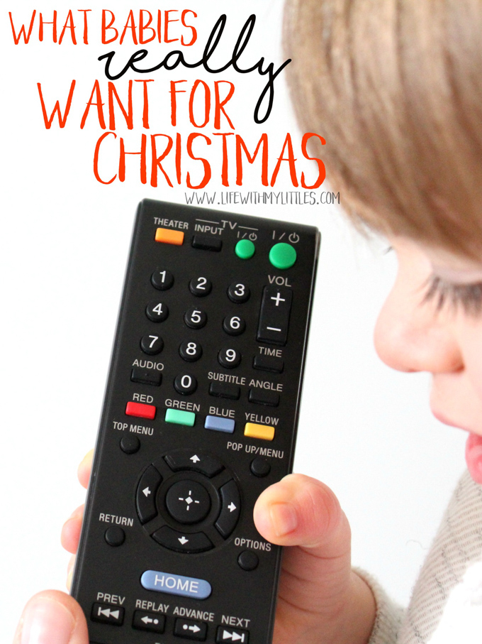 Getting your baby a Christmas present really isn't all that hard. I mean they've been giving you hints all their life. Here's a hilarious look at what babies REALLY want for Christmas!