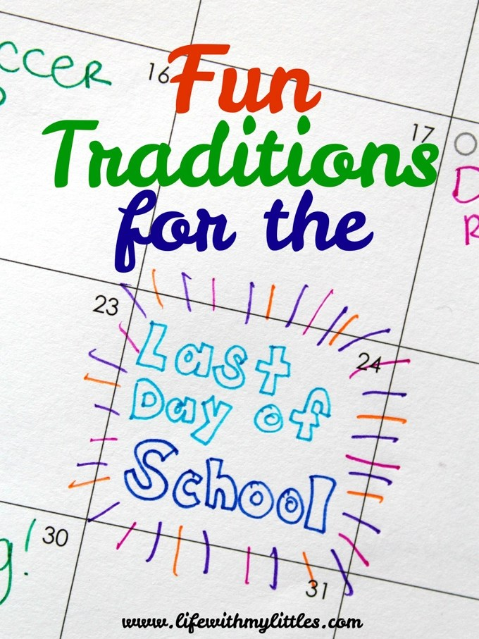 These fun traditions for the last day of school are so creative! If you're looking for a fun way to celebrate your child's last day of school, check out this great list!