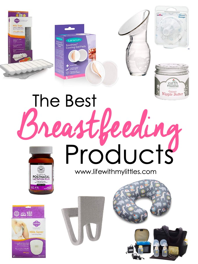 The best breastfeeding products recommended by real mamas! Breast care, breastpumps and accessories, breastfeeding helpers, and things for helping make breastfeeding more comfortable are all included! A great post for a new nursing mama or an experienced nurser!