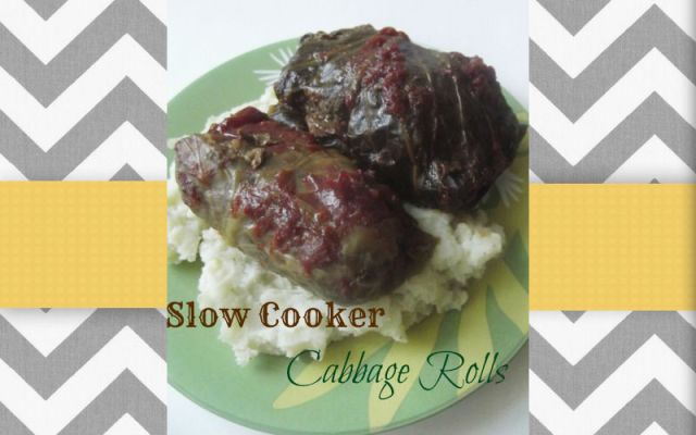 SlowCookerCabbageRolls