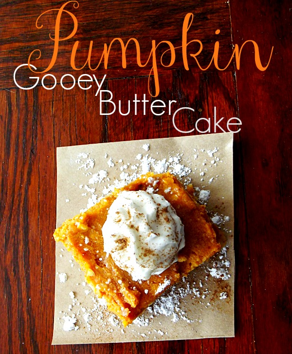 Gooey Butter Cake With Shortbread Crust