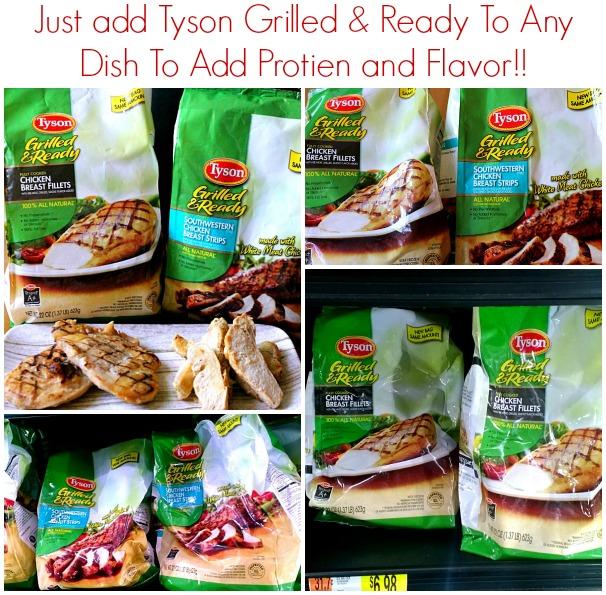 Tyson Grilled&Ready #JustAddTyson, #ad, #cbias