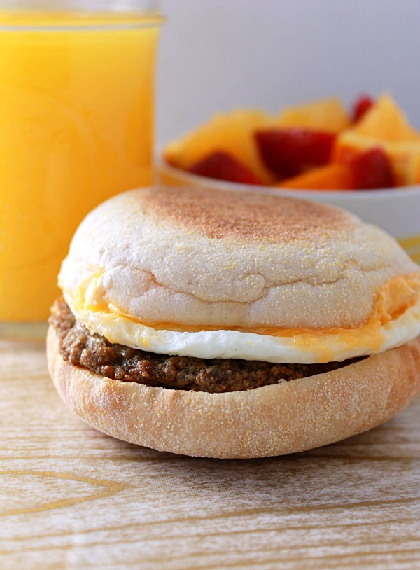 Turkey Sausage English Muffin #WowThatsGood, #shop, #cbias