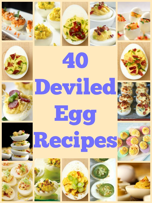 40 Deviled Egg Recipes