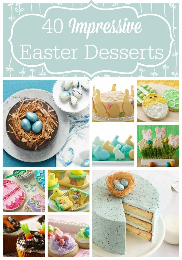 40 Impressive Easter Desserts