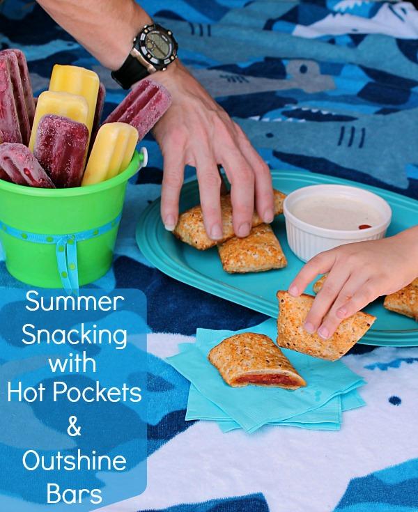 Summer snack table #SummerGoodies #CollectiveBias