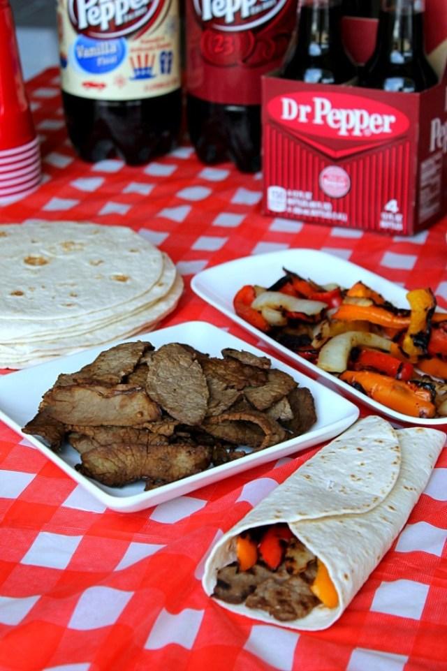Dr Pepper Fajitas #BackyardBash #CollectiveBias
