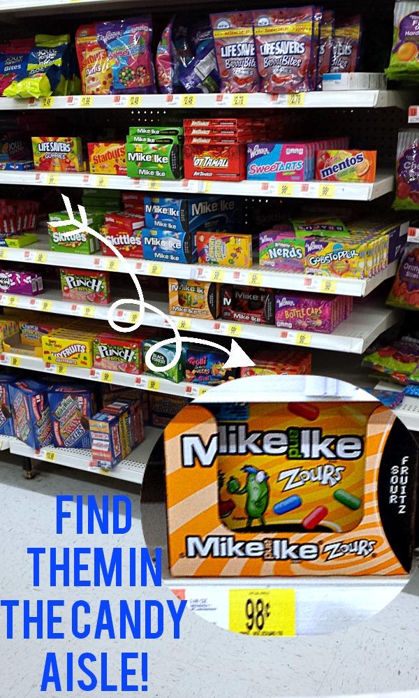 Zours in Walmart #ZoursFace #CollectiveBias