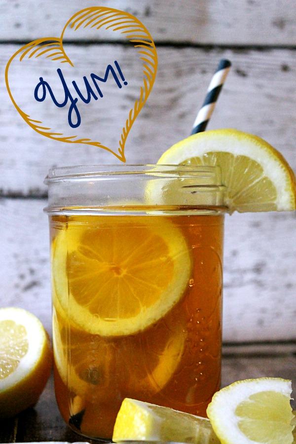 Lemon Lift Iced Tea #AmericasTea #CollectiveBias