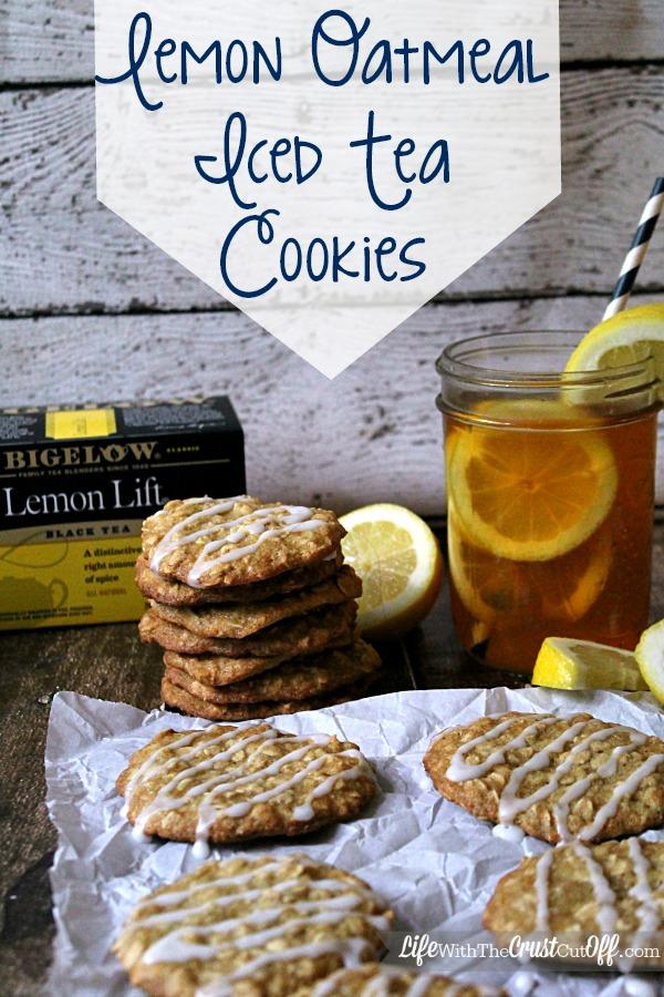 Lemon Oatmeal Iced Tea Cookies #AmericasTea #CollectiveBias