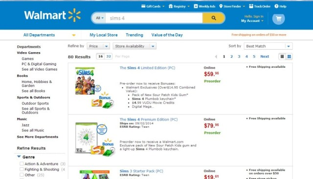 Preorder at Walmart #TheSims4 #CollectiveBias
