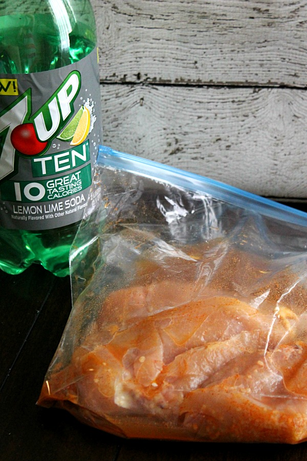 7UP TEN Chicken #drinkTEN #CollectiveBias