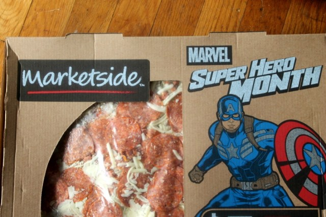 Captain America Pizza #HeroesEatMMs #CollectiveBias