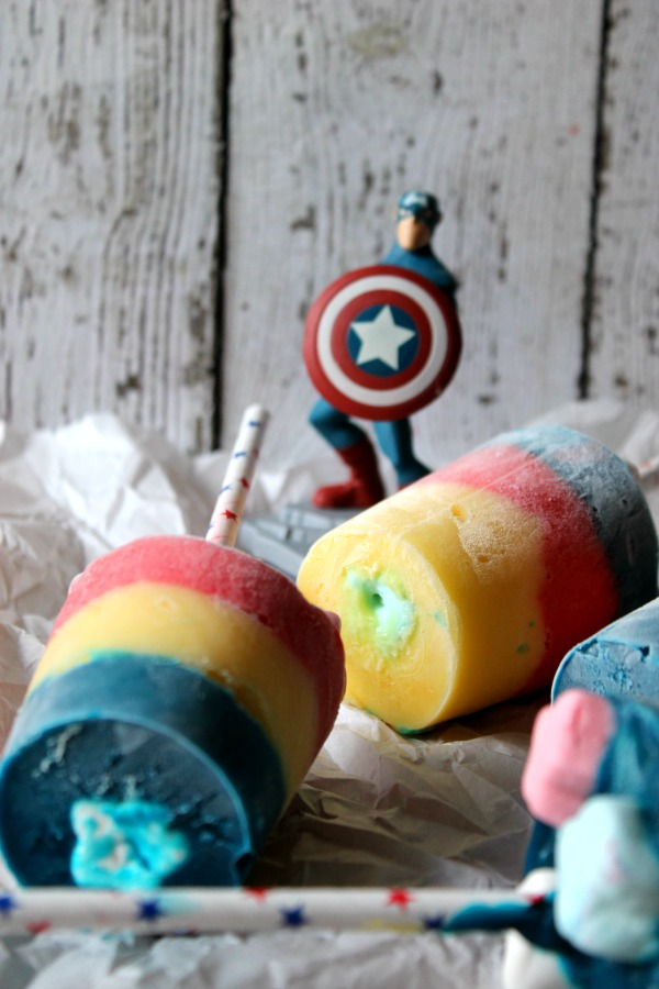 Captain America pops #InfinityHeroes #CollectiveBias
