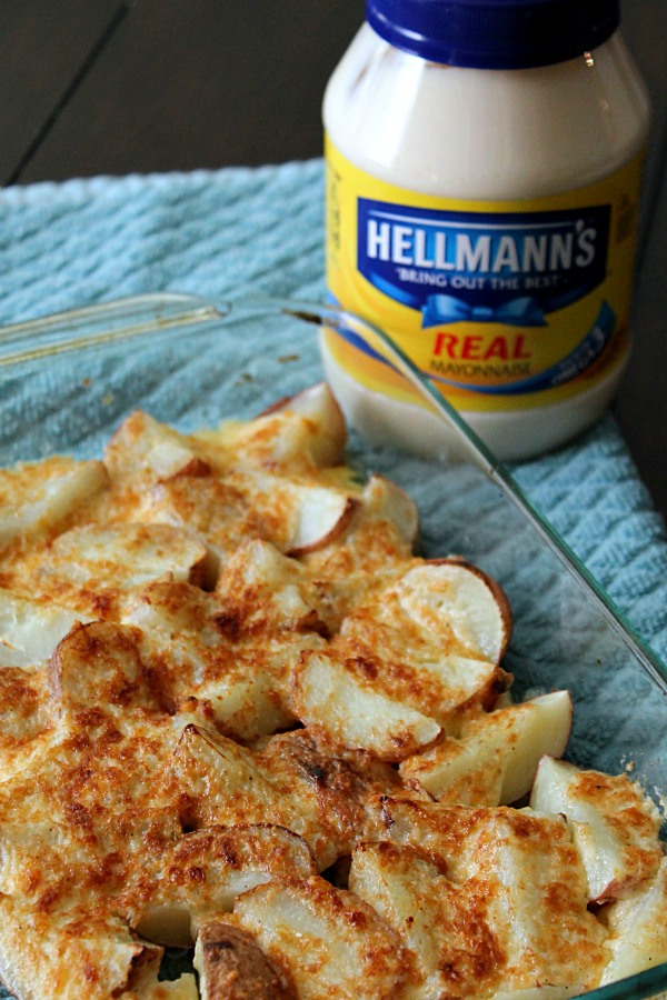 Creamy Parmesan Potatoes