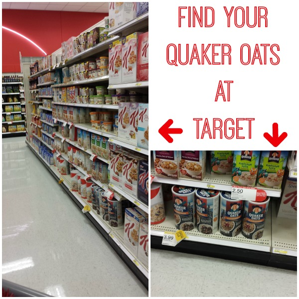 Find Your Quaker Oats at Target #QuakerUp #MyOatsCreation #CollectiveBias