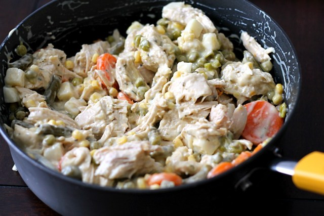 Chicken Pot Pie Filling #CampbellsSauces