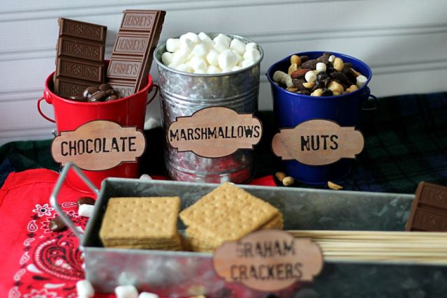 Smores Bar, soo cute!!