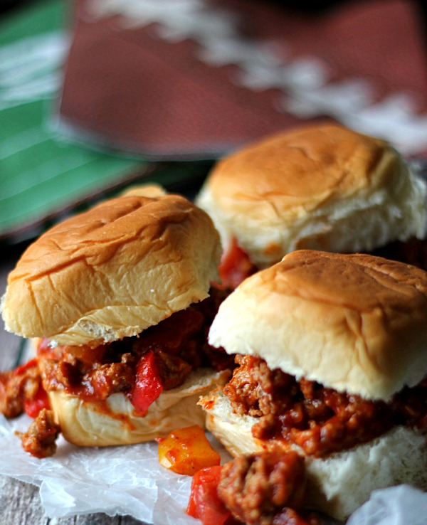 Turkey Taco Sliders