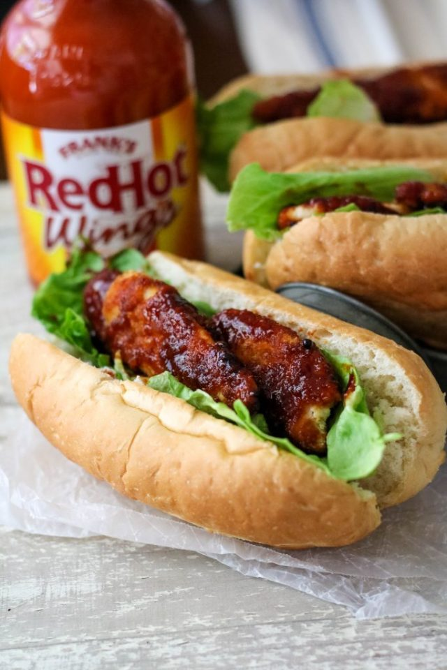 Firecracker Chicken Sub, yum!