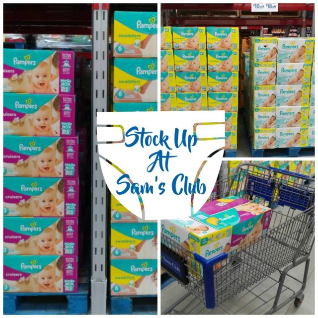 Stock Up At Sam's Club