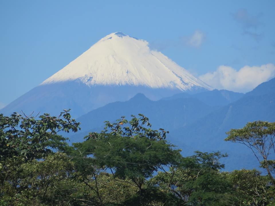 Volcano Sangay Ecuador