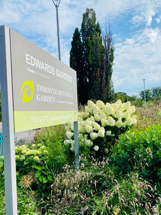Edward Garden Toronto Botanical Garden The entrance Lifewithtwotees