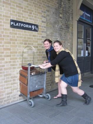 Full steam ahead! (King's Cross London)