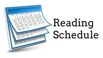 Permalink to: Reading Schedule