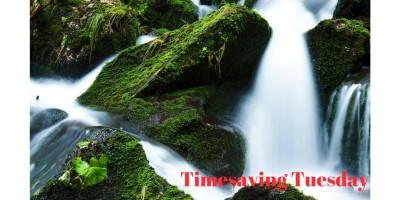 Timesaving Tuesday