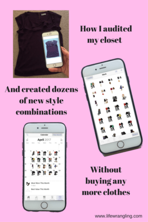 How I used Stylebook to create dozens of new outfits right from my own wardrobe.
