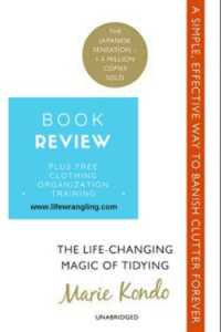 Marie Kondo KonMarie book review. The good, the bad and the ugly and the one takeaway you should implement today!