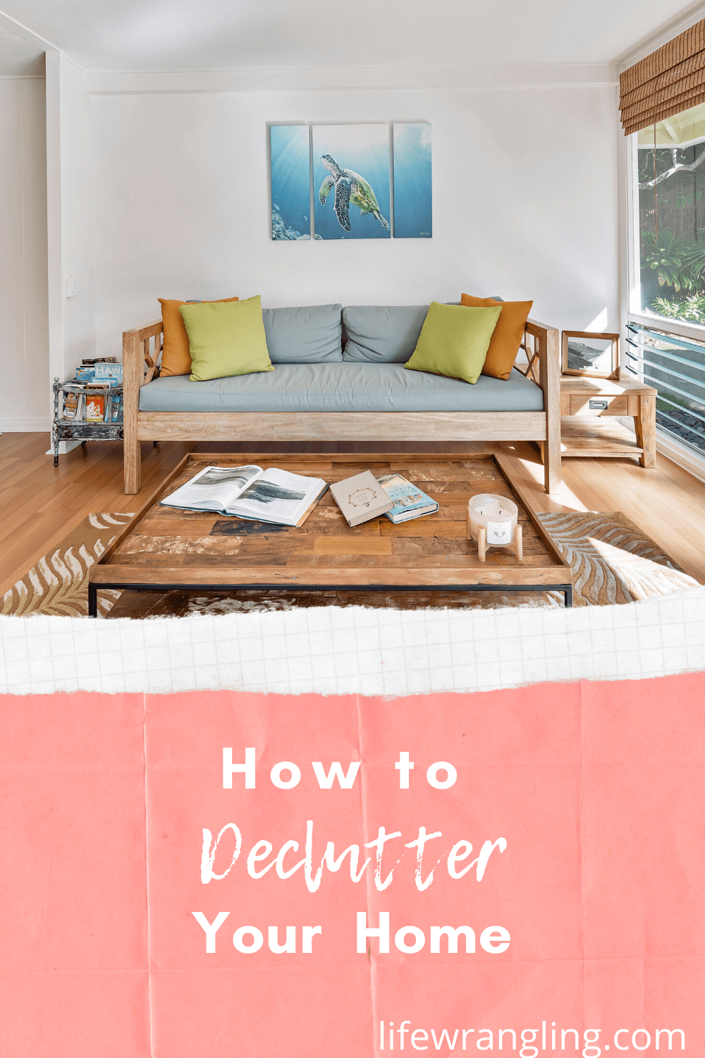 How to get motivated to declutter a messy home