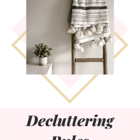 Decluttering Rules: The Simple 3 Step System