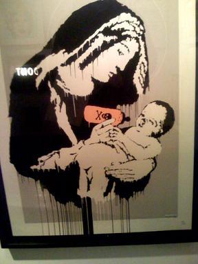 Έργο του Banksy