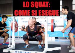 Video / Articolo Tutorial Squat
