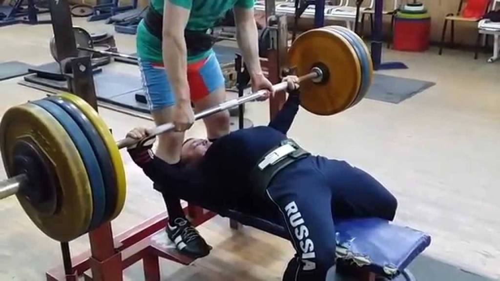 Bench press Fedosienko