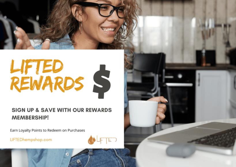 LIFTED Rewards Membership