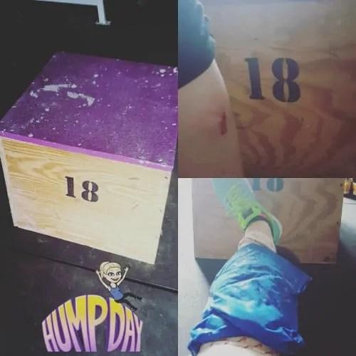 Box Jumps Plyo Box