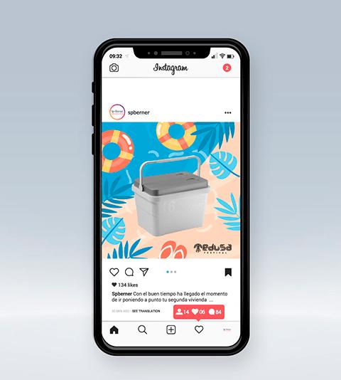 Agencia social media sp berner feed instagram