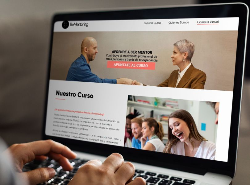 be mentoring proyecto web
