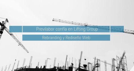 Desarrollo del nuevo site e Identidad de marca para Previlabor