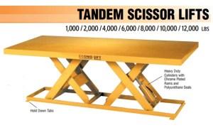 Tandem Scissor Lift